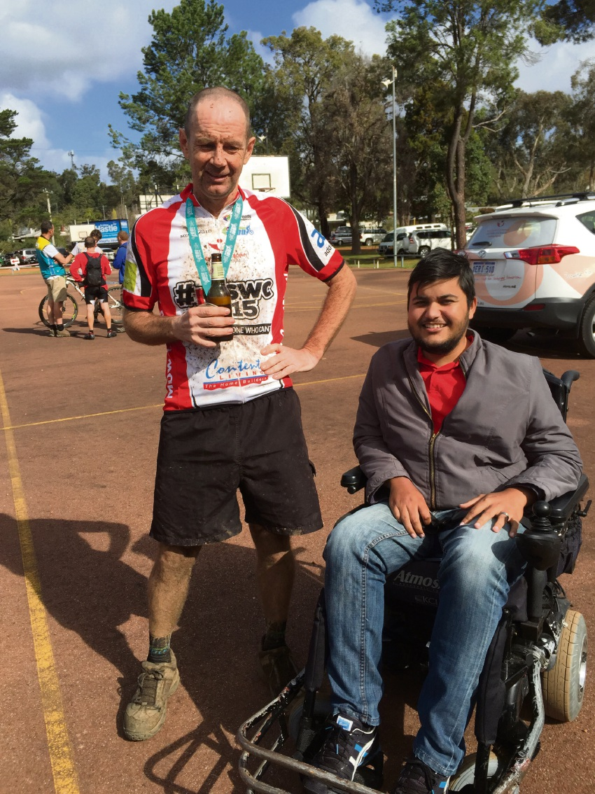 Mt Helena mates to ride Dwellingup 100 for those who can't