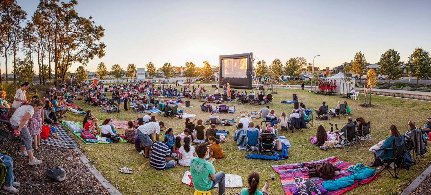 Free movie night in Brabham this Friday night