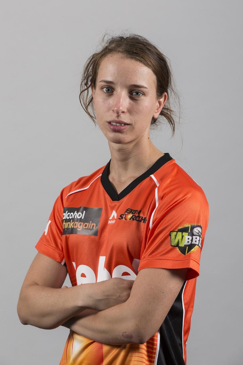 Cricketer Chloe Piparo.