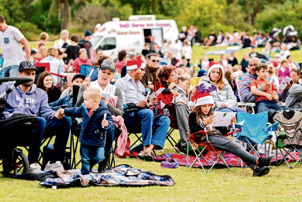 Yanchep: free community Xmas party at Old Nursey Park