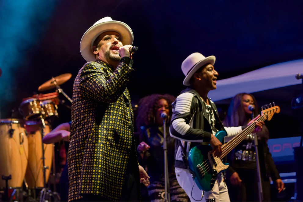 Audience embraced the '80s with Culture Club at Fremantle Arts Centre