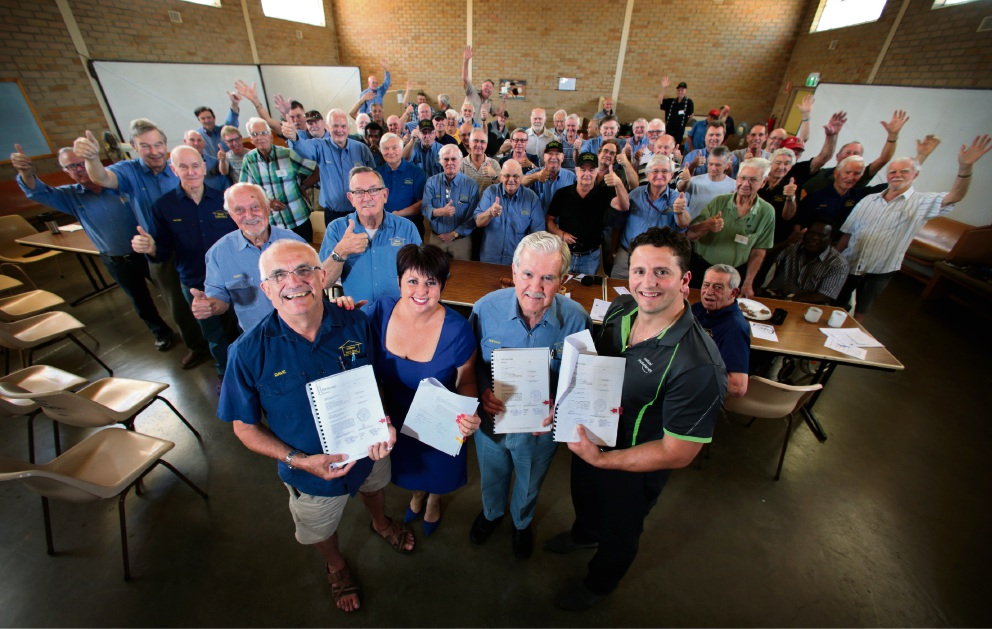 Midland Men's Shed finally finds new home