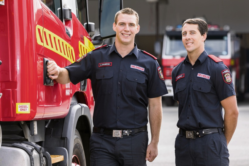 Henley Brook and Aveley new firefighting recruits hot to trot