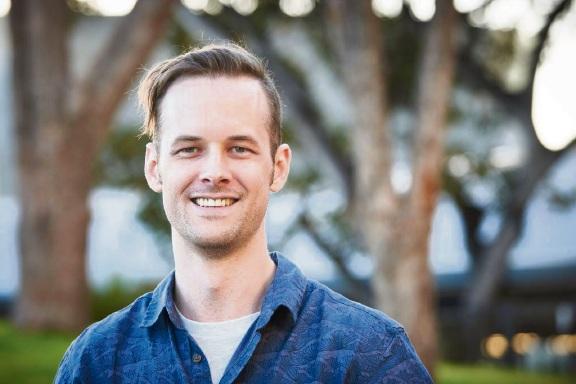 Coolbellup's Cam Jakson, a member of Lifeline WA's online crisis support team.