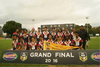 The Fremantle Roosters U14 boys team were crowned premiers this year.