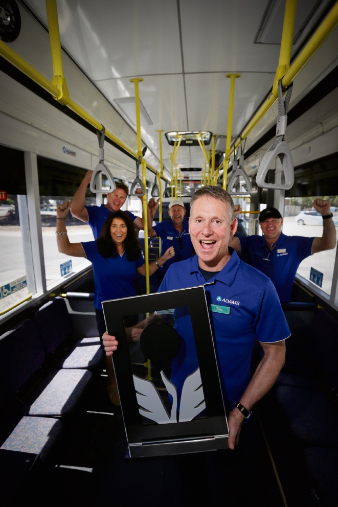 Rottnest bus provider ADAMS wins WA's top tourism award