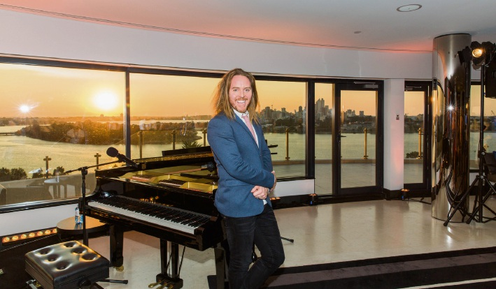 Tim Minchin in Perth to launch Matilda the Musical.