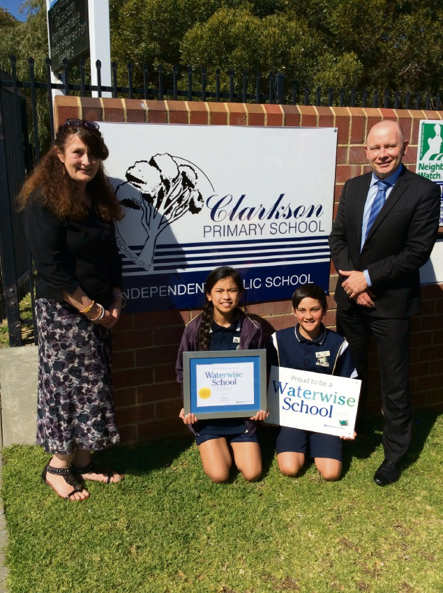Clarkson Primary School celebrates 10 years of being waterwise