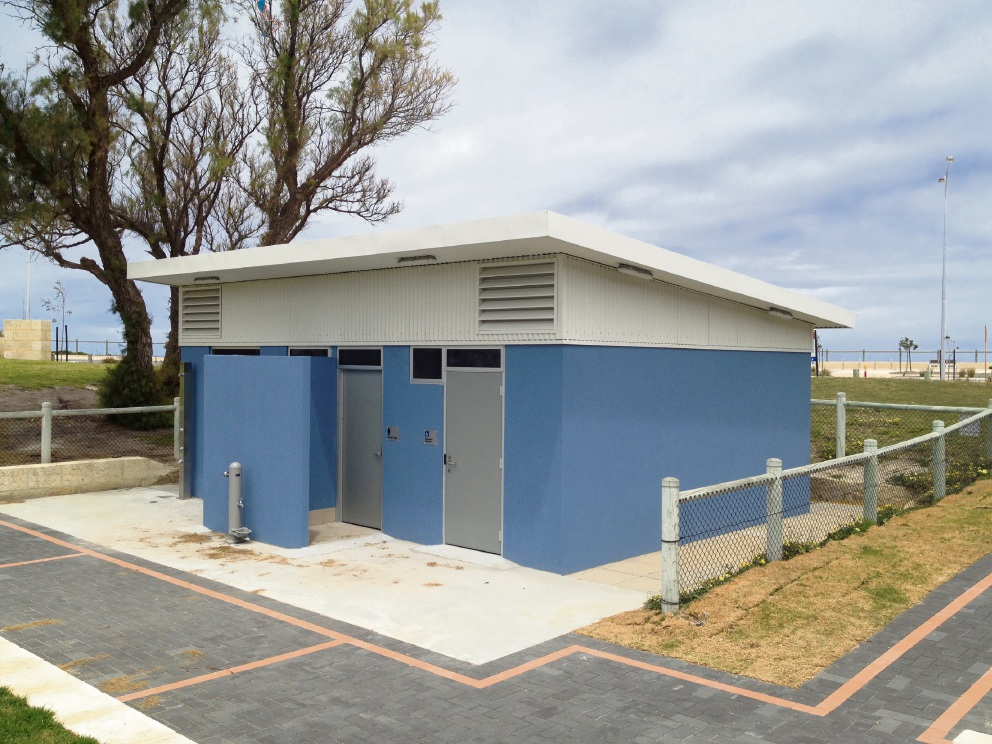 Flush new toilet block opens at Fishermans Hollow