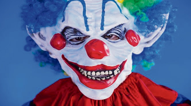 Hillarys Police warn against clowning around