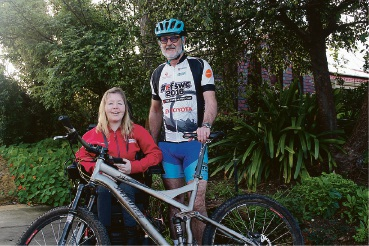 Carramar's Peter Campbell taking part in gruelling 100km Ride for Someone Who Can't
