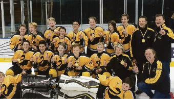 WA Ice Hockey Under-13's take gold at national championships