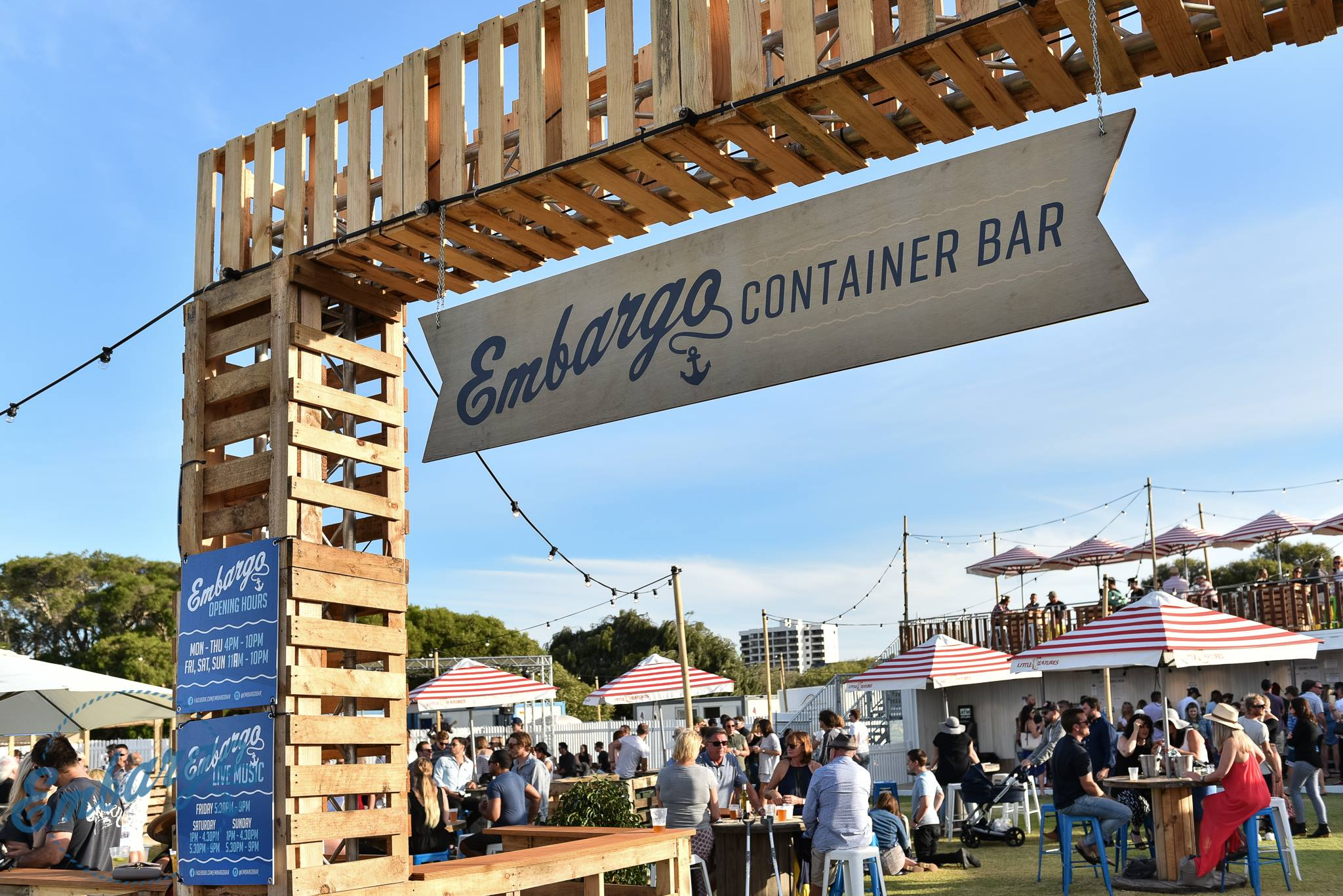 Embargo Container Bar set to sail from South Perth