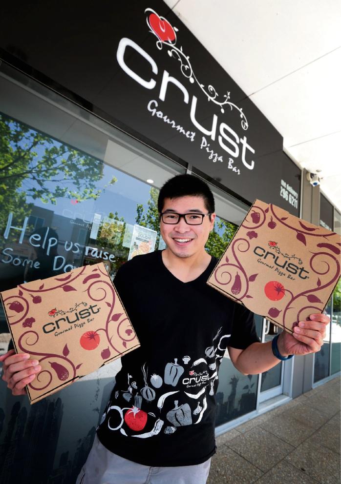 Ronny Soetanto from Crust Gourmet Pizza in Ellenbrook.