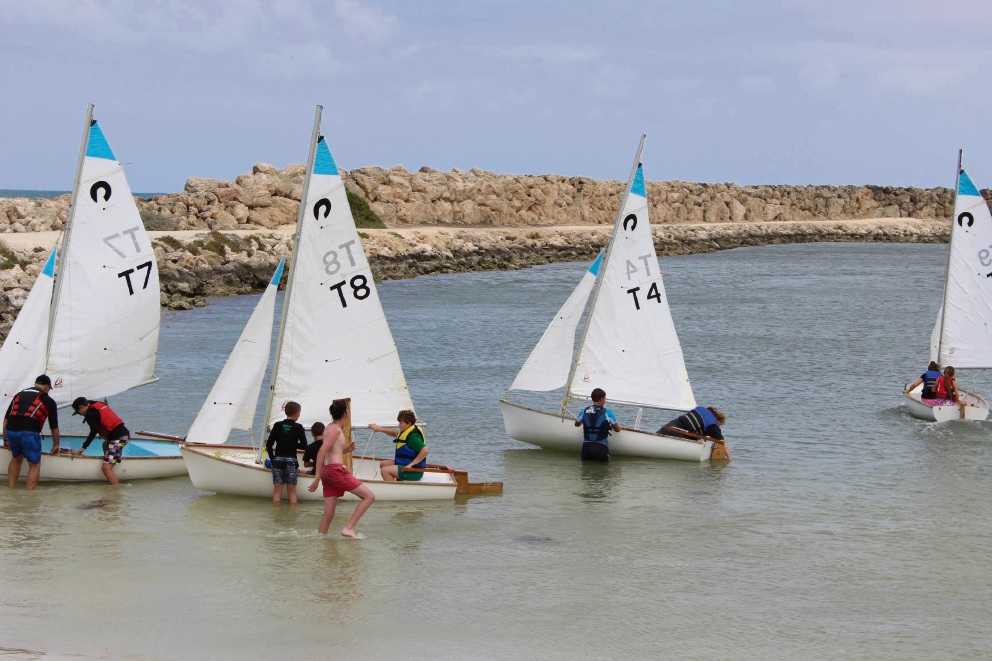 Last year's dinghy race.