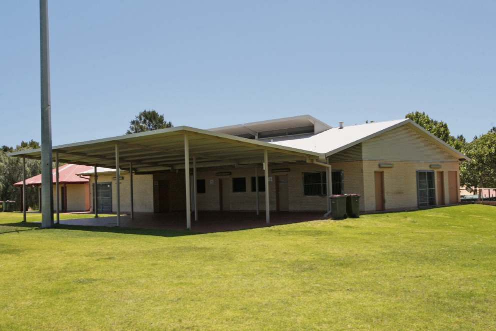 The existing clubrooms.