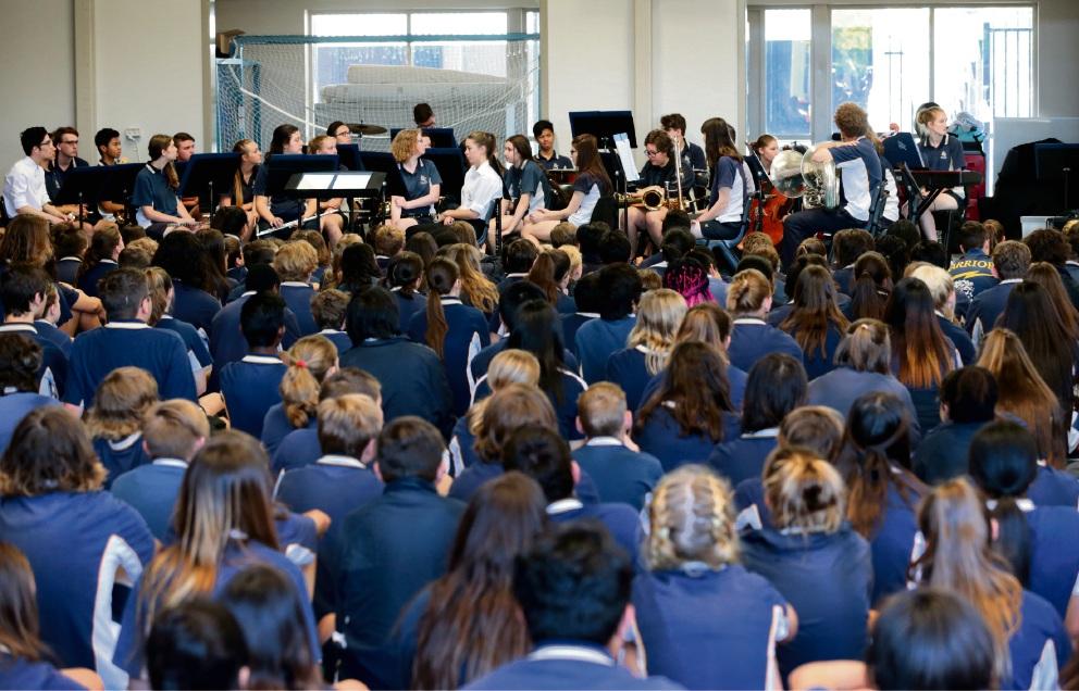Ellenbrook Secondary College celebrates 10-year milestone
