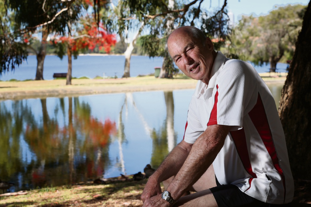 David Dyke, of Maylands, was diagnosed with prostate cancer a month ago. Picture: Andrew Ritchie        www.communitypix.com.au   d463205