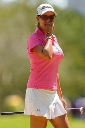 Golfer Whitney Hillier.