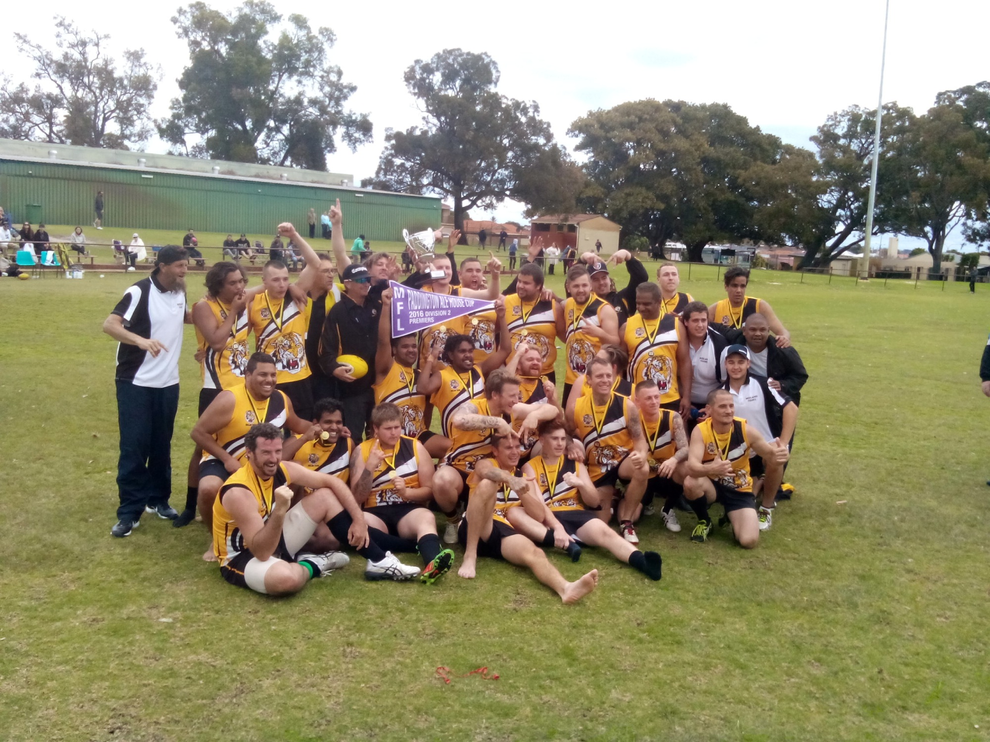 The premiership winning Midland Tigers
