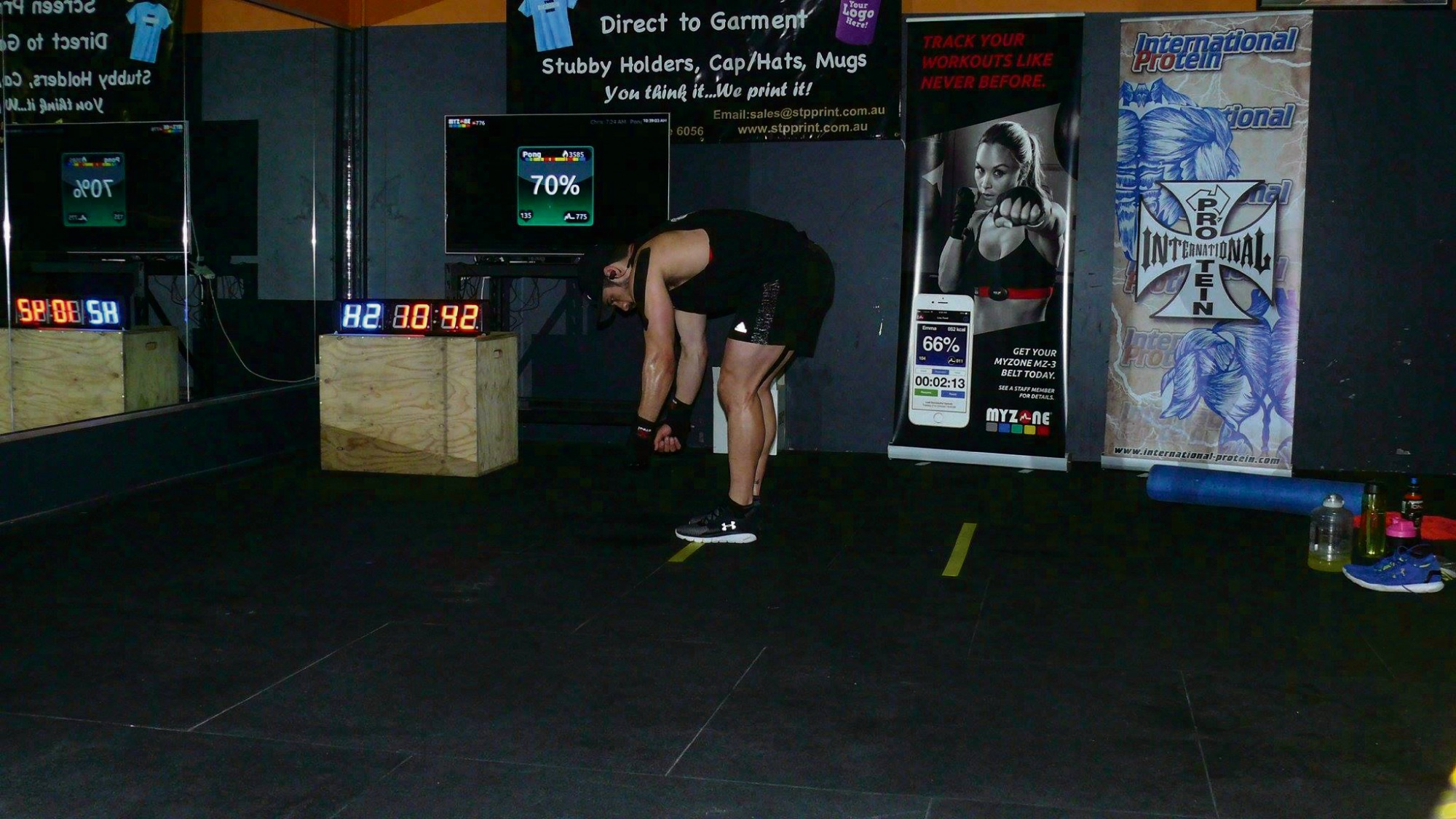 Armadale's Levi Kissick-Ponga in action during the attempt at the attempt at 24/7 Power Fitness Maddington.