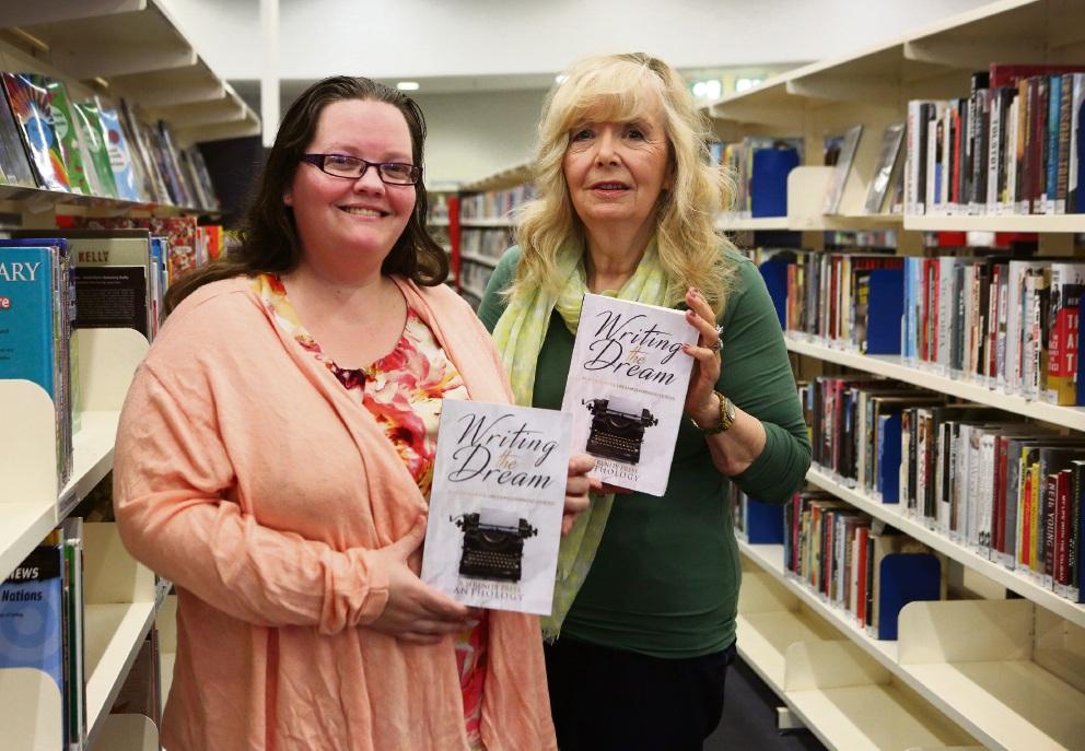 Writers Rebecca Laffar-Smith and Sonia Bellhouse. Picture: Matt Jelonek
