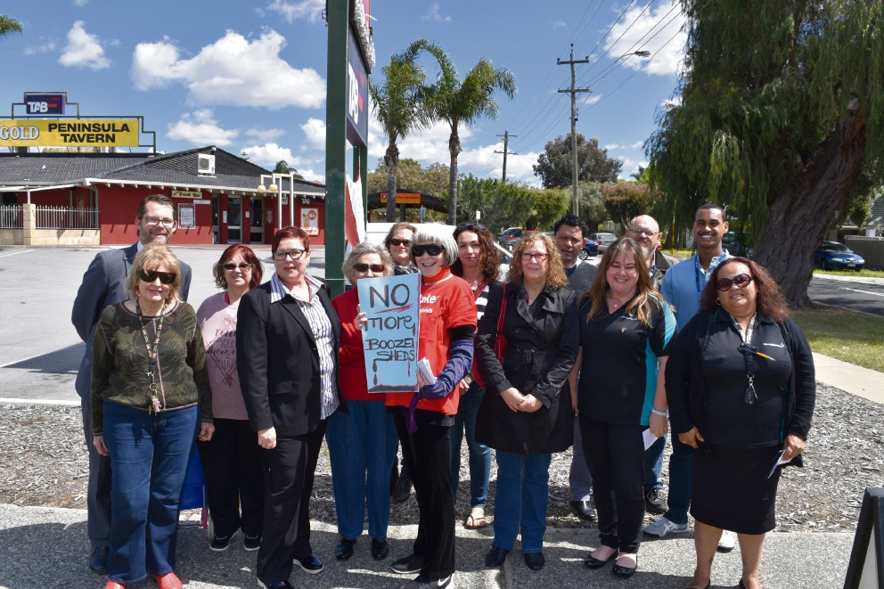 Maylands residents rally against Dan Murphy's as Supreme Court Judge reserves decision