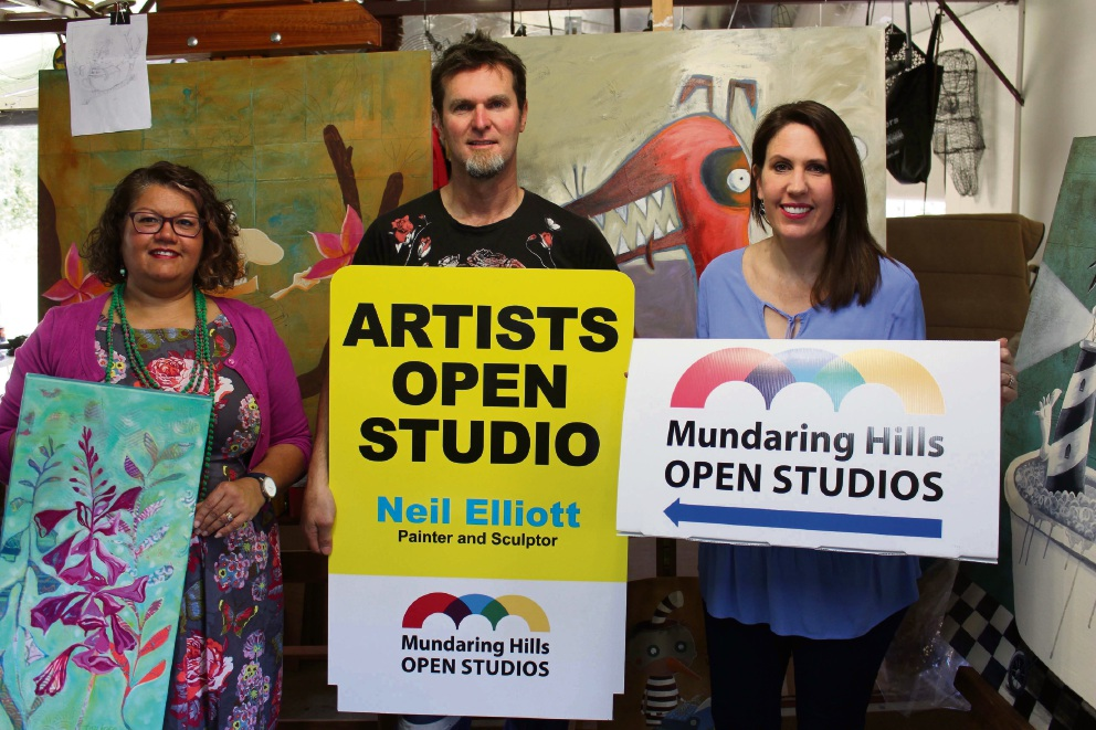 Mundaring Hills Open Studios: spend the weekend touring creative spaces of artists