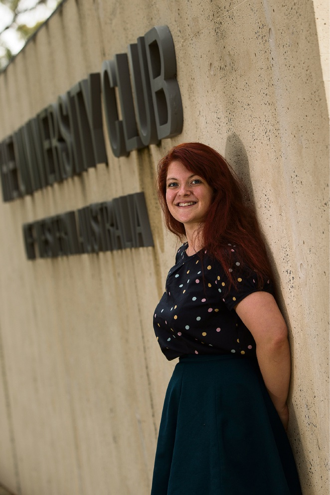 Bronwyn Milkins has overcome depression and anxiety. Picture: Will Russell www.communitypix.com.au   d461948