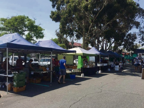 Thirty stalls kick-started the new Leederville Growers Market.
