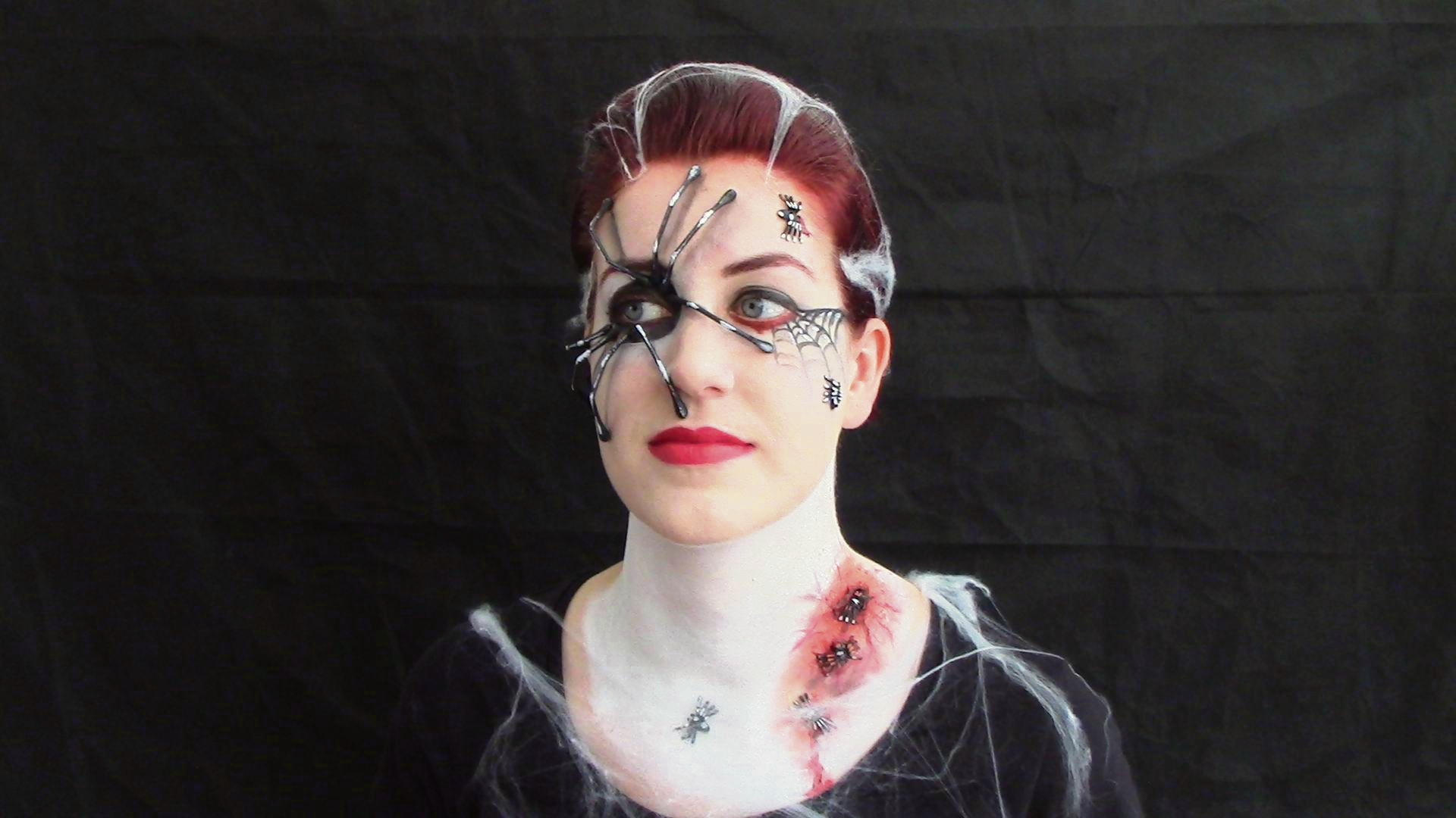 Mandurah make-up artist creates Halloween scares