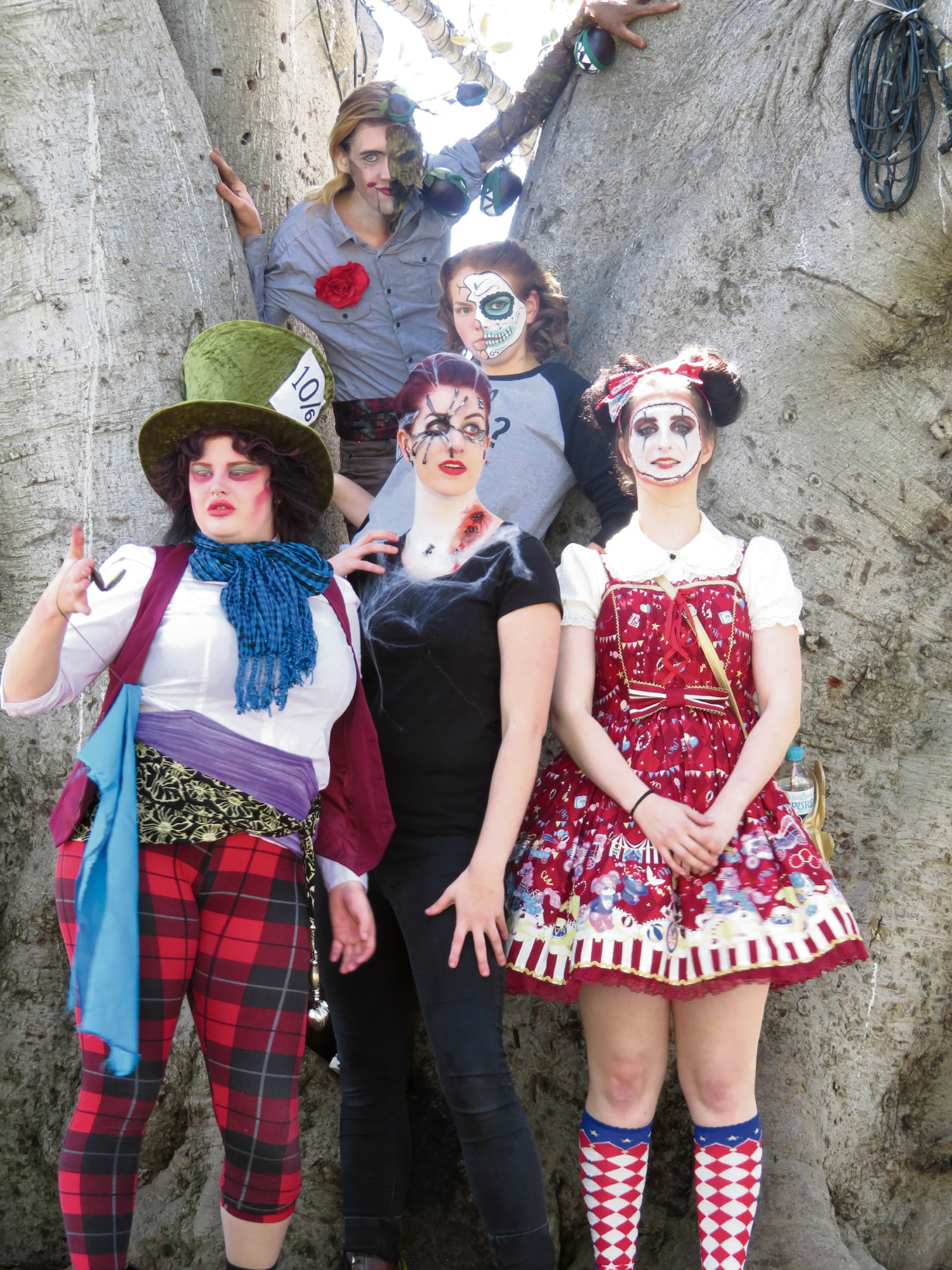 Courtney Hollins showed off her ghoulish designs at a pop-up event in Fremantle recently.