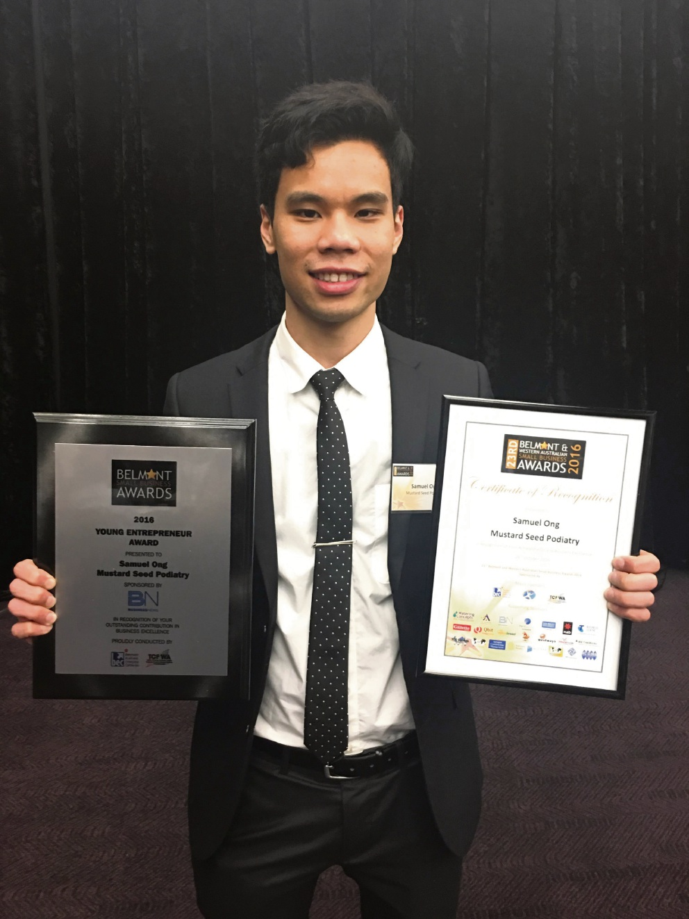 Bayswater podiatry practice up for top business award