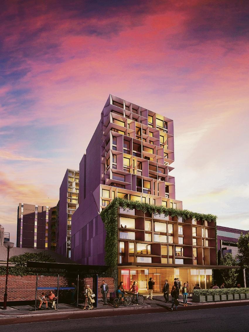 Baltinas Velo development in Northbridge now complete