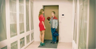 Kolya (Semyon Treskunov) falls in love with his teacher in The Good Boy.