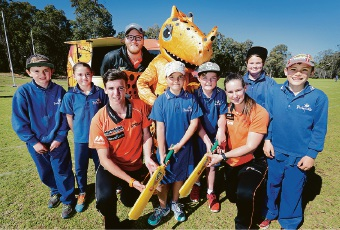 Parkerville Primary gets scorching visit from Perth cricketers