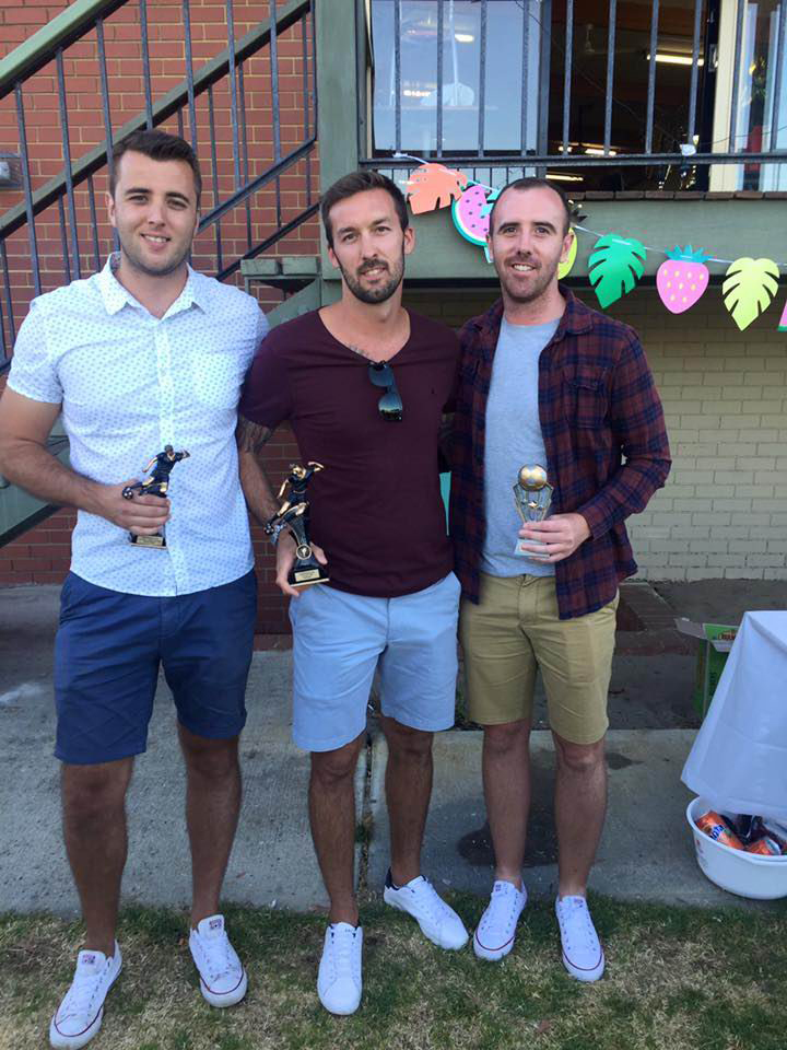 Ashfield Sports Club recognises best and fairest at awards night