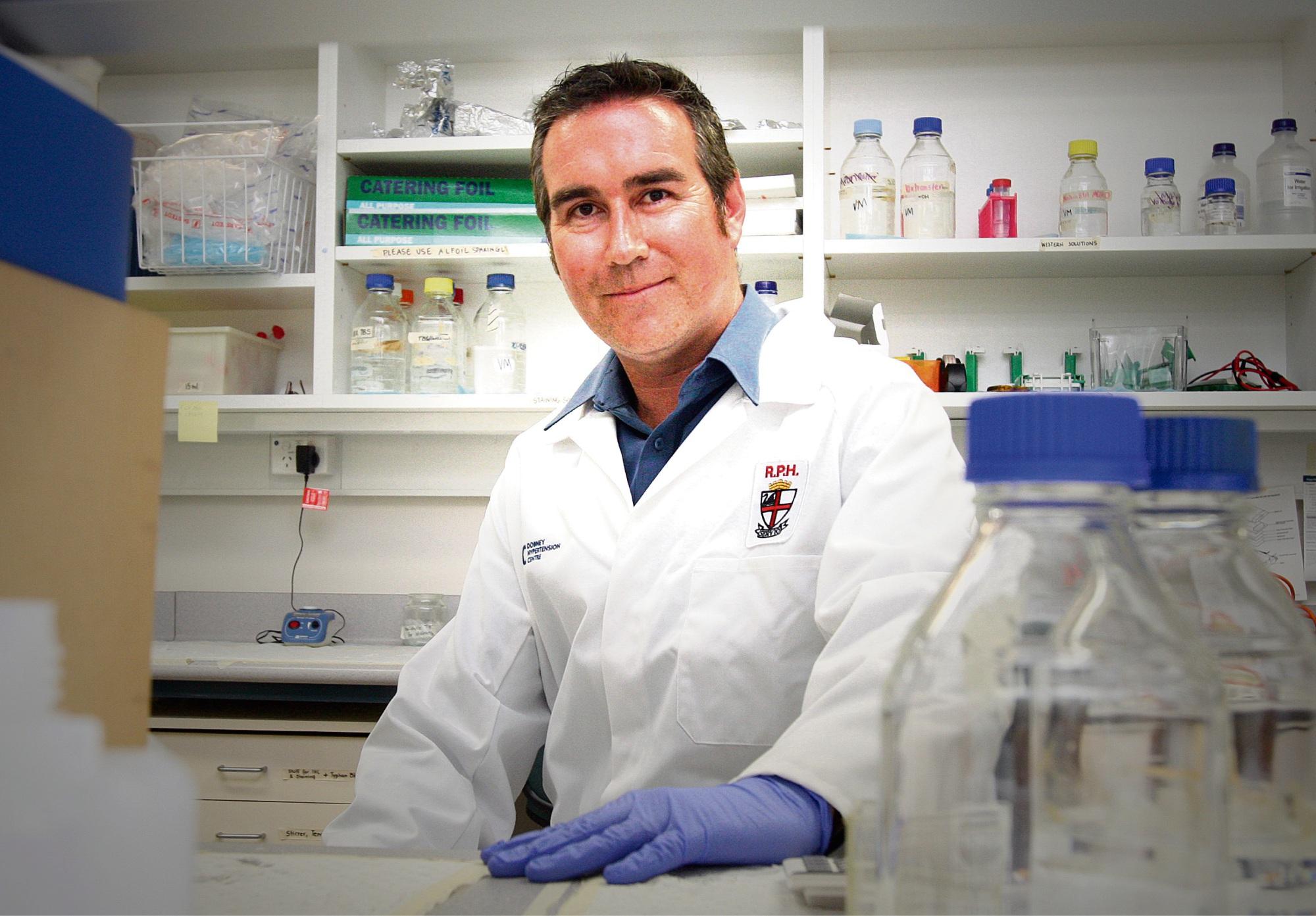 Assistant Professor Vance Matthews.