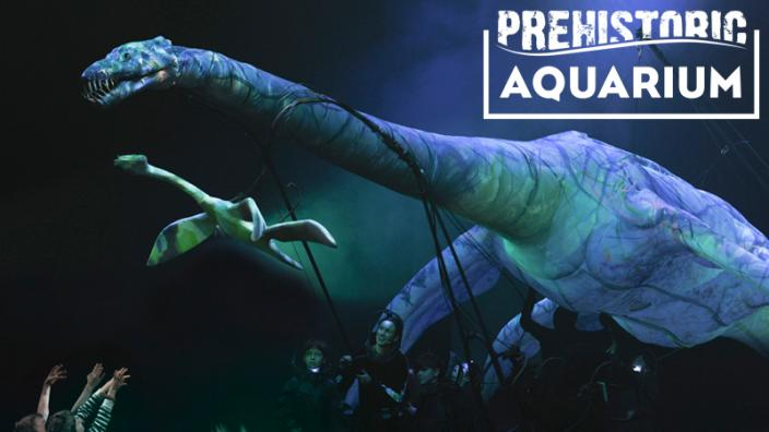 Prehistoric Aquarium: stunning new interactive show opens this weekend