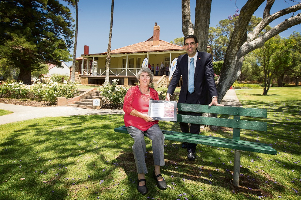 Lotterwest grant to help spruce up the  Coachman's Quarters at the Azelia Ley Homestead Museum in Hamilton Hill