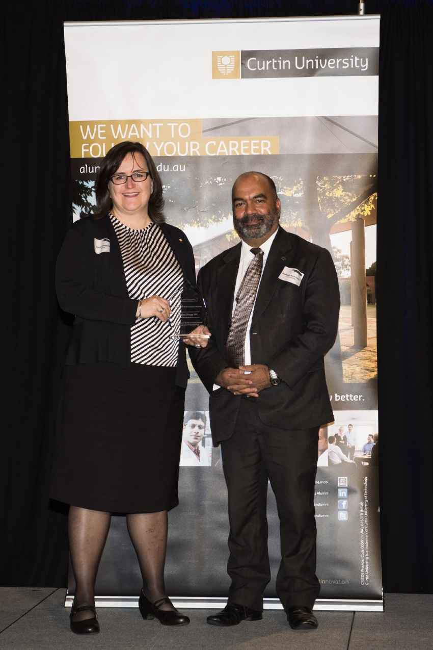 Beaconsfield resident scoops award from Curtin University