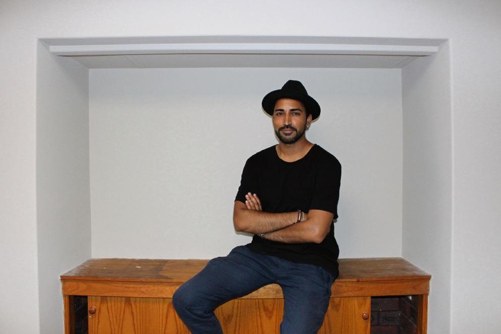 Actor Mahesh Jadu is enjoying the blank canvas of his new Kardinya home.