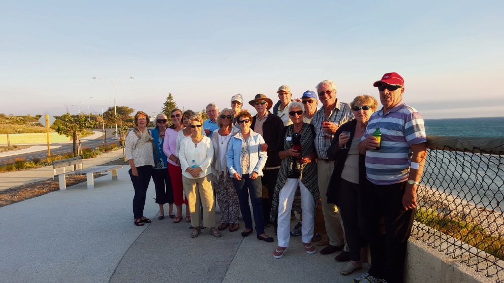 Yanchep Two Rocks Probus Club members had sundowners at Fisherman's Hollow in Yanchep on November 4.