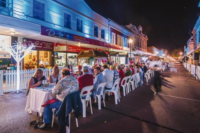 Long Table Christmas Dinner raises more than $20,000