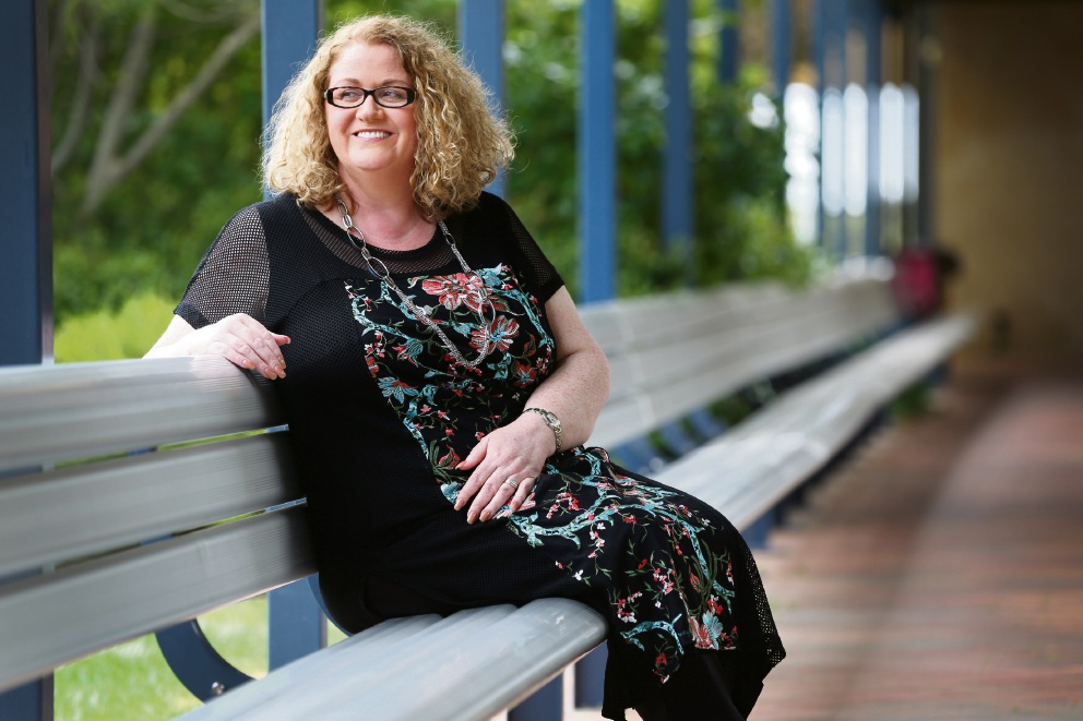 Karen Bontempo won the WA Premier's Secondary Teacher of the Year award. Picture: Andrew Ritchie