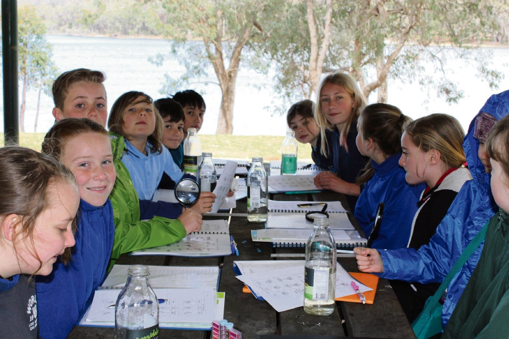 Students from Chidlow Primary School recently learnt about environmental care during an excursion.