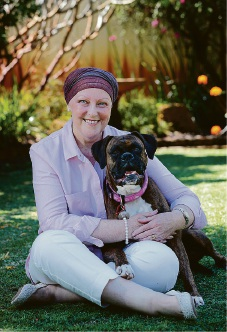Rescue dog Ruby helps Bassendean resident chase away cancer
