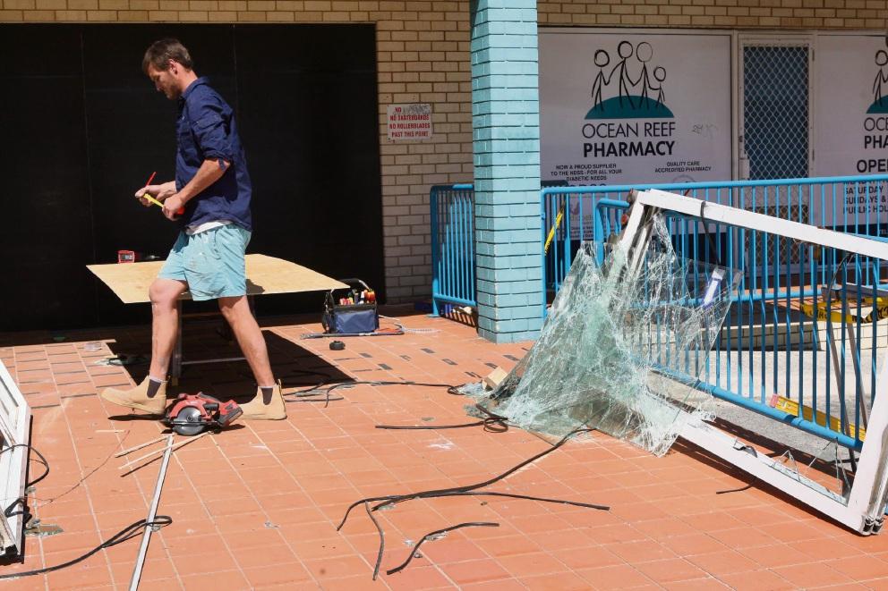 WA Police investigate Ocean Reef ram raid