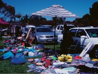 About 200 stalls were at the Wanneroo Showground for the Garage Sale Trail.
