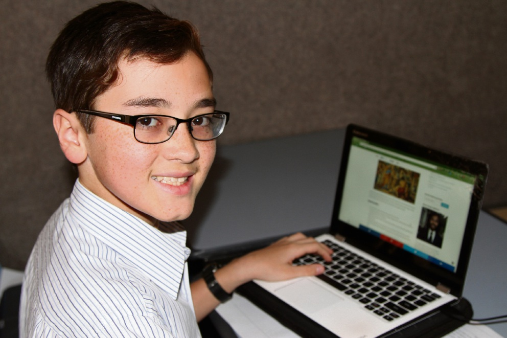 Kennedy Baptist College student Brandon Smith won the Australian Securities Exchange Share Market Game.